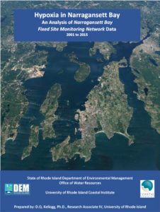 Hypoxia in Narragansett Bay An Analysis of Narragansett Bay Fixed Site Monitoring Network Data 2001 to 2015